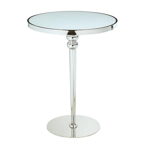 Chintaly Contemporary Starphire Glass Counter Table