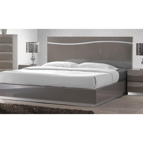 Chintaly Delhi Bed In Grey