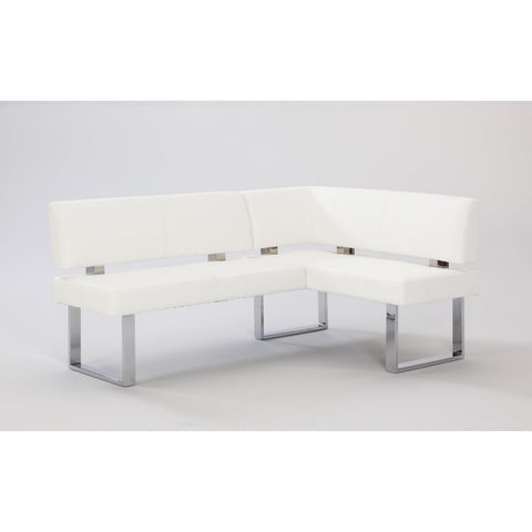 Chintaly Linden White PU Nook In White