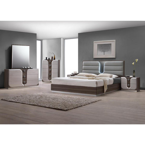 Chintaly London 5 Piece Bedroom Set
