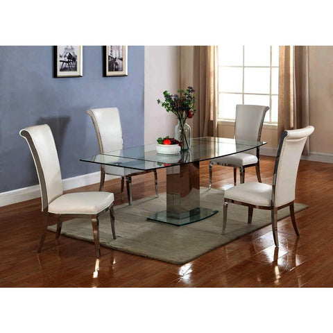Chintaly Mackenzie 5 Piece Dining Set