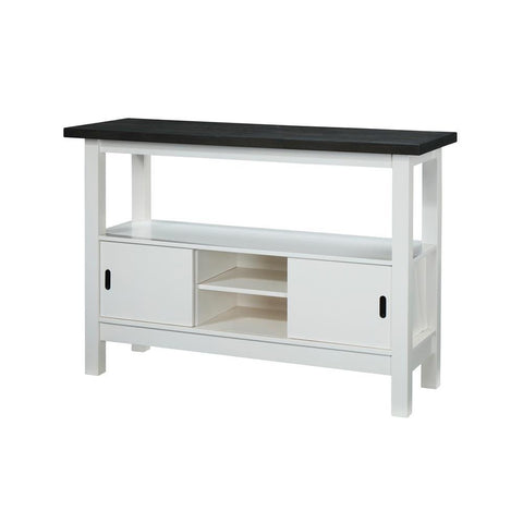 Chintaly Modern Wooden Buffet with Storage
