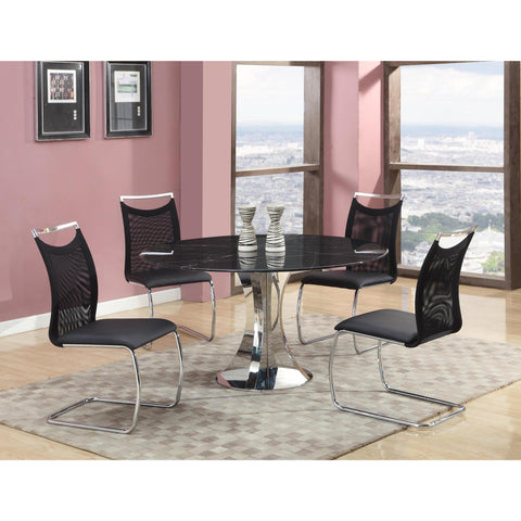 Chintaly Nadine Dining 5 Piece Dining Set