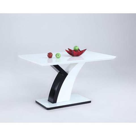 Chintaly Natasha Dining Table In White