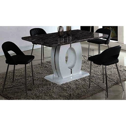 Chintaly Samantha 5 Piece Dining Set