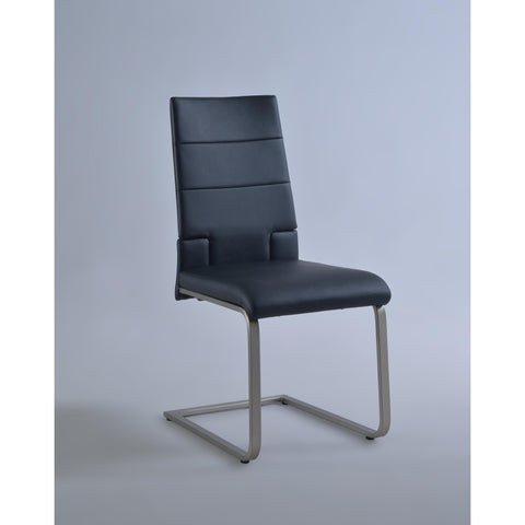 Chintaly Savannah Motion Side Chair In Black