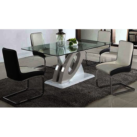 Chintaly Stella 5 Piece Dining Set
