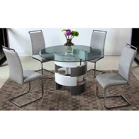Chintaly Sunny 5 Piece Dining Set
