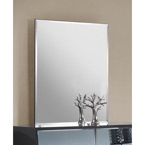 Chintaly Venice 18Mm Bevel Edge Mirror In High Black