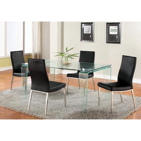 Chintaly Vera Dining 5 Piece Dining Set With Jamila Side Chair