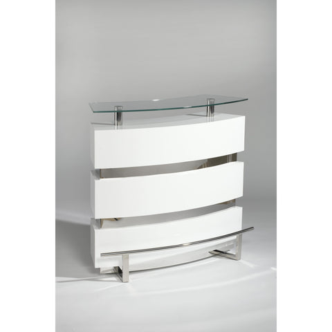 Chintaly Xenia Bar In Clear White