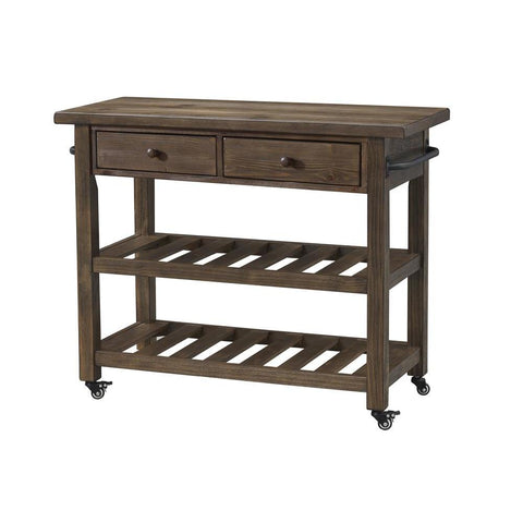 Coast To Coast 36525 Orchard Park Two Drawer Kitchen Cart