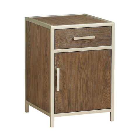 Coast To Coast 36645 One Door One Drawer Chairside Cabinet