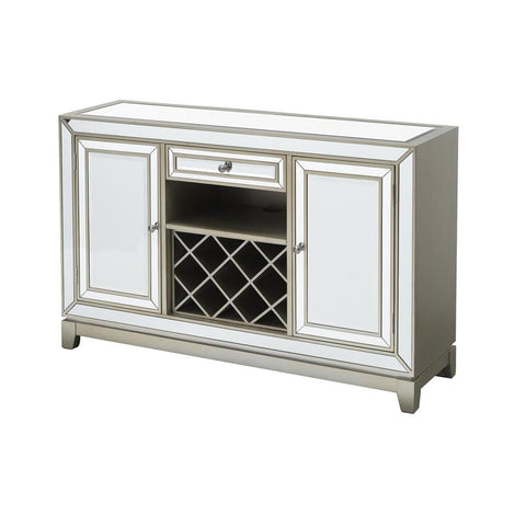 Coast To Coast 40231 Two Door One Drawer Wine/Media Cabinet