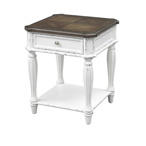 Coast To Coast 40236 Cottage Row One Drawer End Table