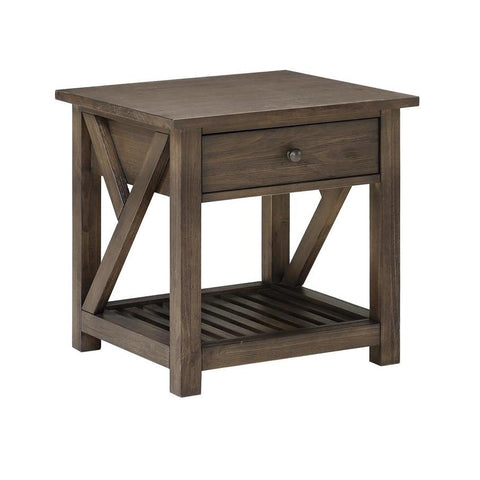 Coast To Coast 40284 Traverse One Drawer End Table