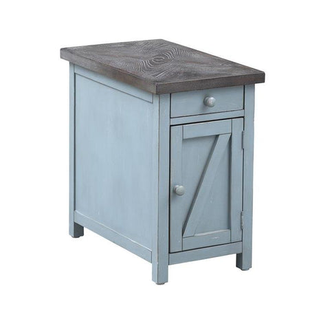 Coast To Coast 40307 Bar Harbor One Drawer One Door Chairside Cabinet