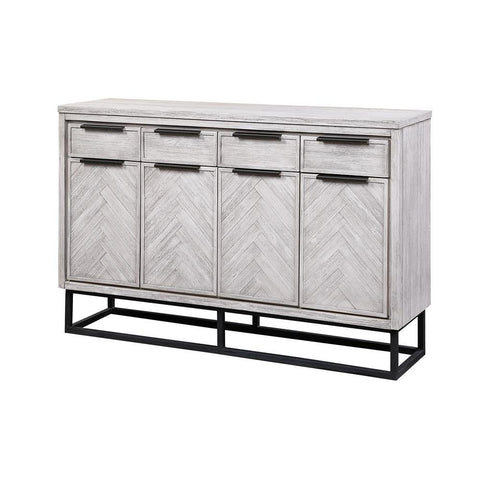 Coast To Coast Aspen Court II Four Door Four Drawer Media Credenza