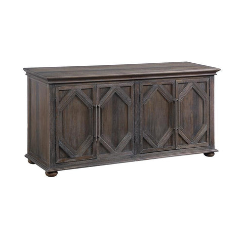 Coast To Coast Four Door Media Credenza