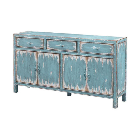 Coast To Coast Four Door Three Drawer Media Credenza