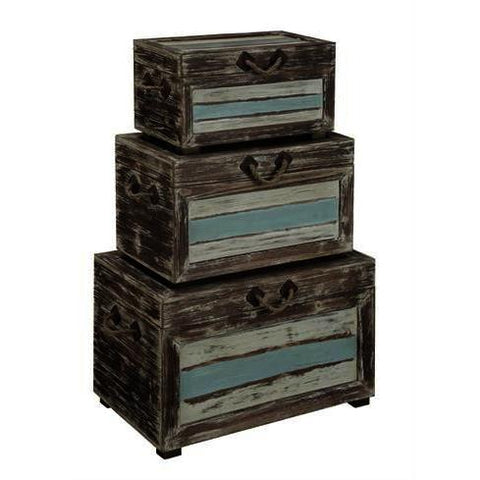 Coast To Coast Set of 3 Nesting Trunks 91743
