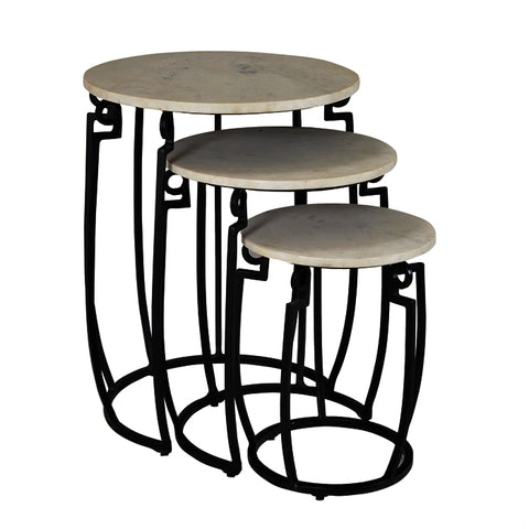 Coast To Coast Set of Three Nesting Tables 93411
