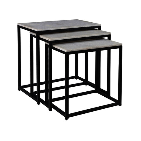 Coast To Coast Set of Three Nesting Tables 93413