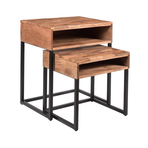 Coast To Coast Set of Two Nesting Tables