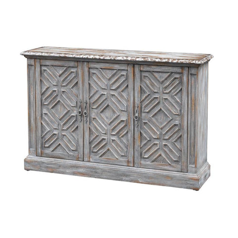 Coast To Coast Three Door Media Credenza