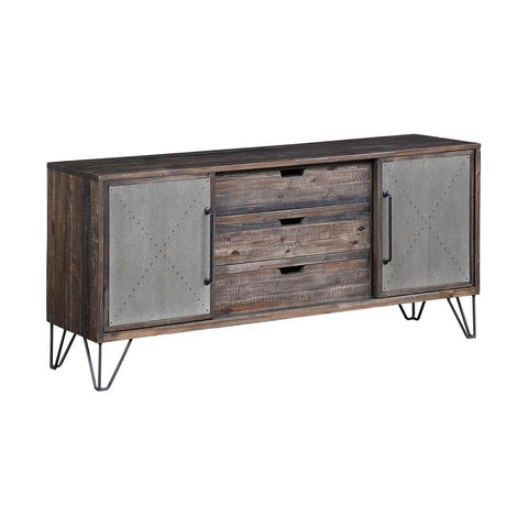 Coast To Coast Two Sliding Door Three Drawer Media Console