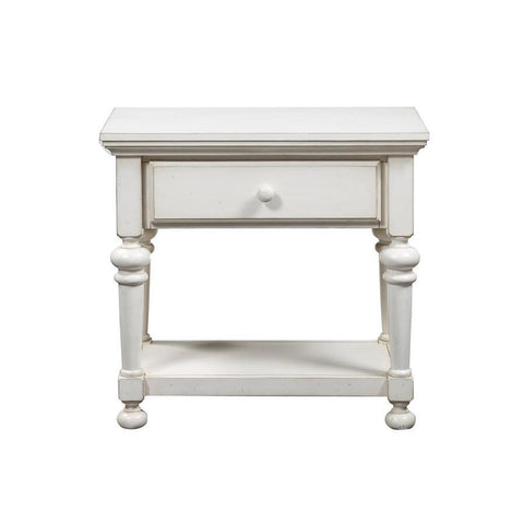 Comfort Pointe Alida Antique White Nightstand