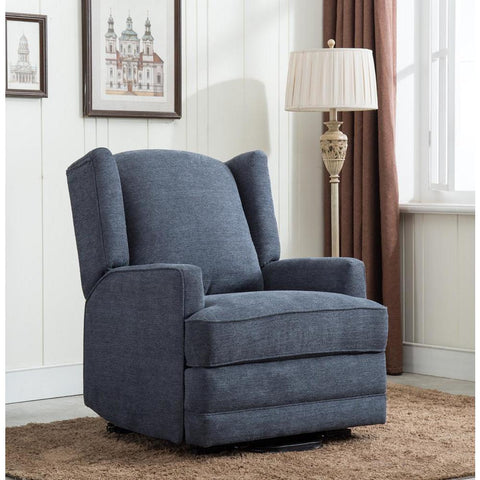 Comfort Pointe Connoly Blue Wingback Lift Chair