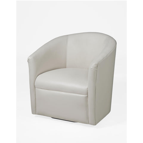 Comfort Pointe Draper Milky Swivel Chair