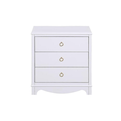 Comfort Pointe Laurel 3 Drawer Nightstand
