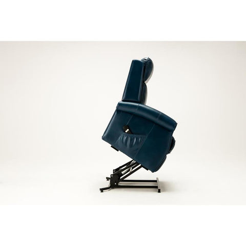 Comfort Pointe Lehman Traditional Lift Chair in Navy Blue