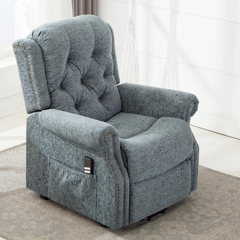 Comfort Pointe Madison Steel Blue Lift Chair