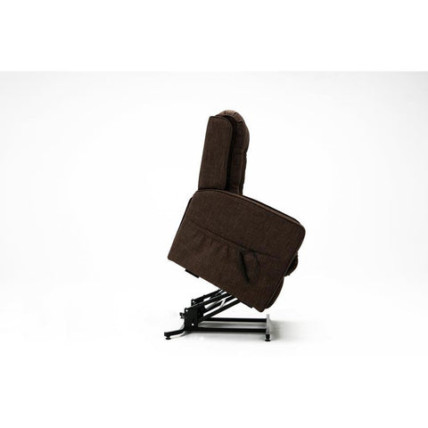 Comfort Pointe Paxton Track Arm Lift Chair in Brown
