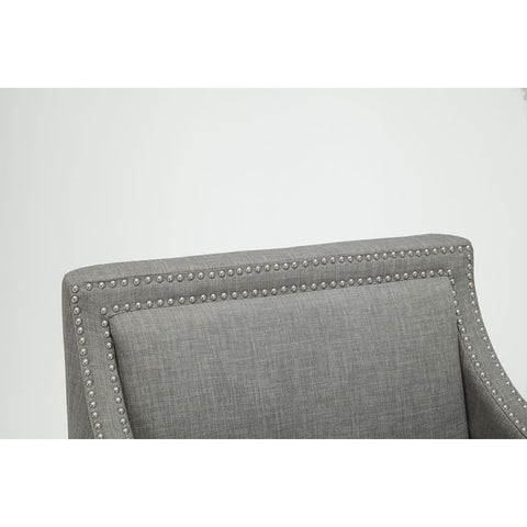 Comfort Pointe Taslo Accent Chair in Gray