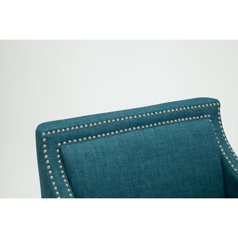 Comfort Pointe Taslo Accent Chair in Teal