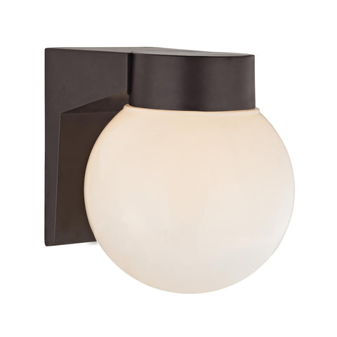 Cornerstone 1 Light Outdoor Wall Sconce In Oil Rubbed Bronze 9201EW/75