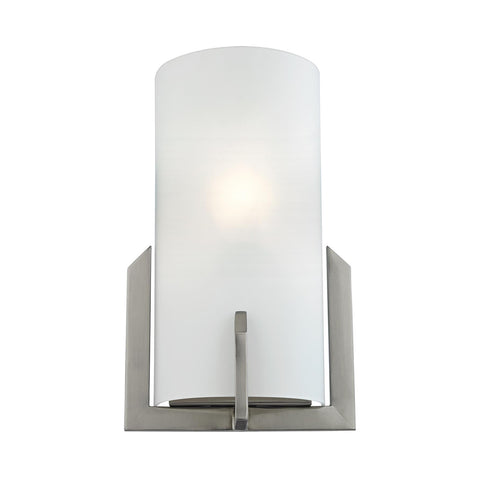 Cornerstone 1 Light Wall Sconce In Brushed Nickel 5111WS/20