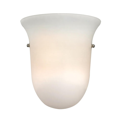 Cornerstone 1 Light Wall Sconce In Brushed Nickel 5121WS/99