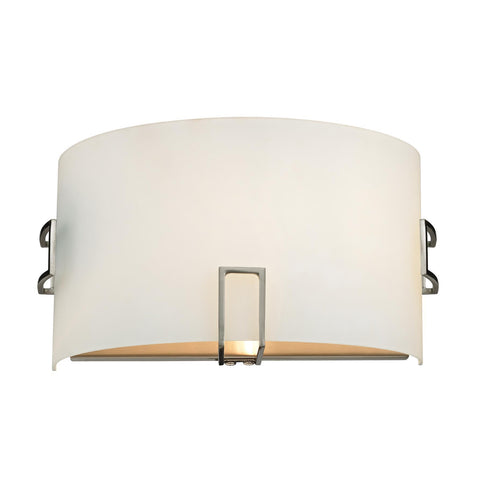Cornerstone 1 Light Wall Sconce In Brushed Nickel 5131WS/20