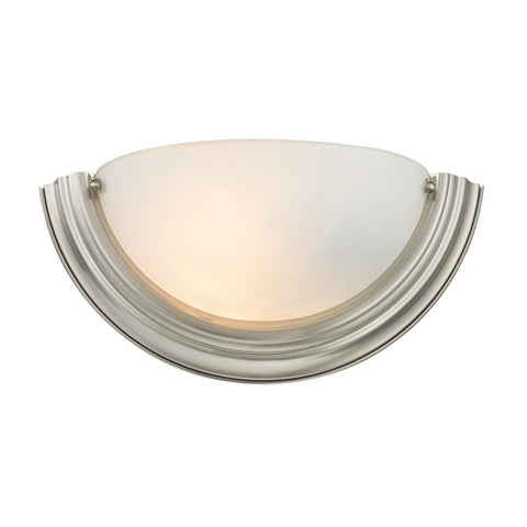 Cornerstone 1 Light Wall Sconce In Brushed Nickel 5151WS/20