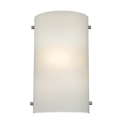 Cornerstone 1 Light Wall Sconce In Brushed Nickel 5161WS/99