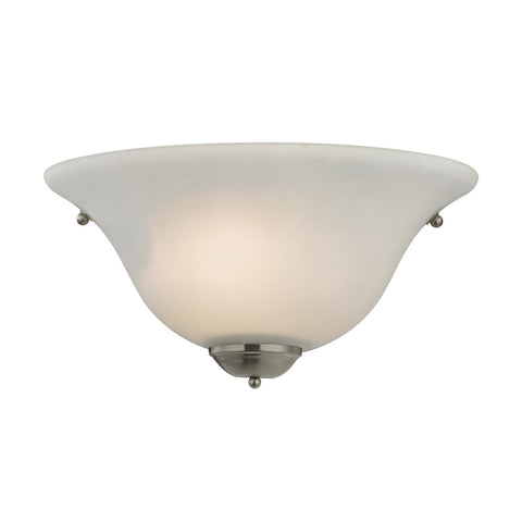 Cornerstone 1 Light Wall Sconce In Brushed Nickel 5171WS/20