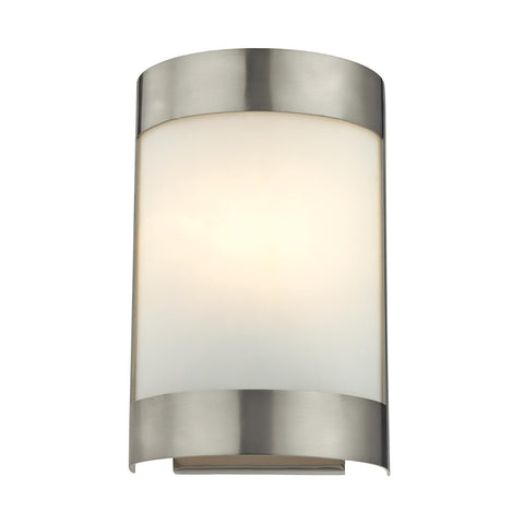 Cornerstone 1 Light Wall Sconce In Brushed Nickel 5181WS/20