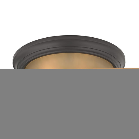 Cornerstone 3 Light Flush Mount In Oil Rubbed Bronze 7013FM/10
