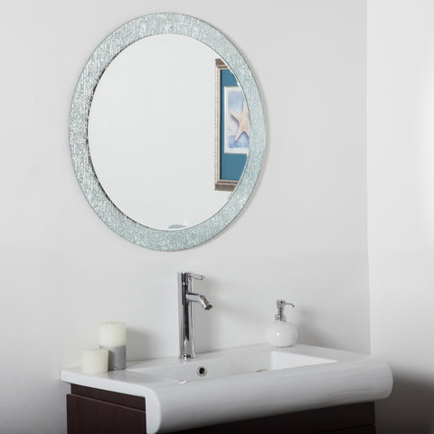 Decor Wonderland Molten Bathroom Mirror