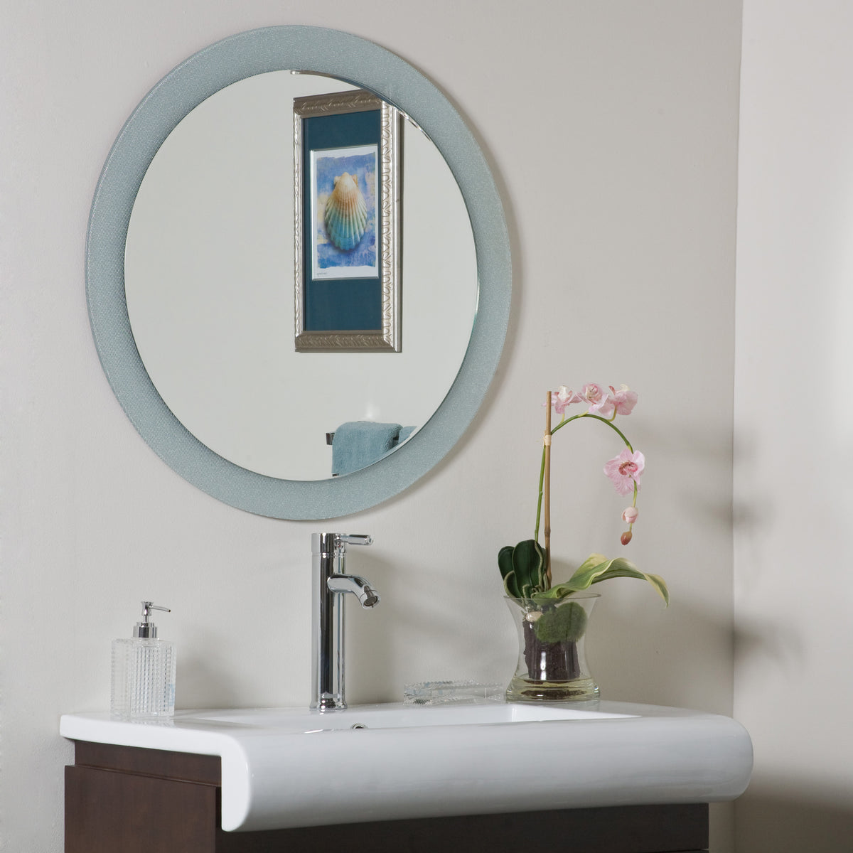 decor zoe bathroom mirror beyond stores 10525
